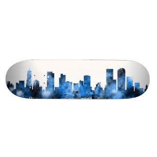 Denver Colorado Skyline Custom Skateboard