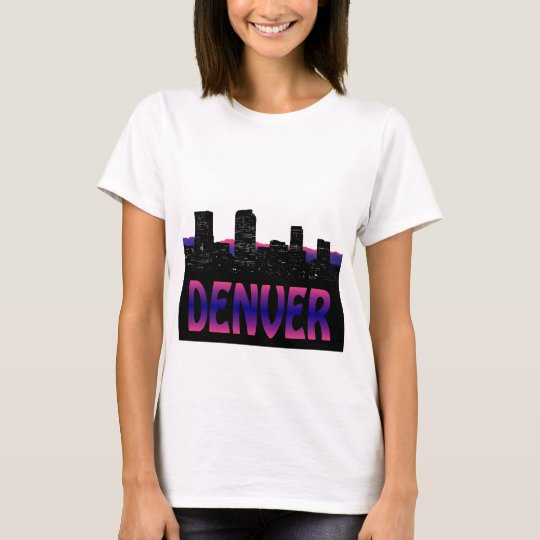 Denver Colorado Skyline T-Shirt