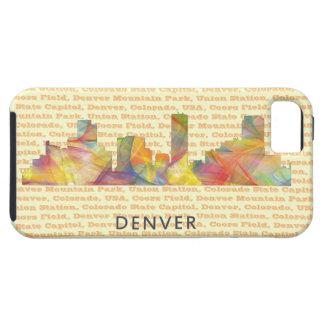 DENVER, COLORADO SKYLINE WB1 - iPhone SE/5/5s CASE