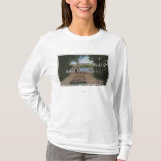 Denver, Colorado - Speed Boats on Lake Rhoda T-Shirt