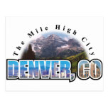 Denver Colorado Tarjeta Postal