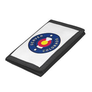 Denver Colorado Trifold Wallet