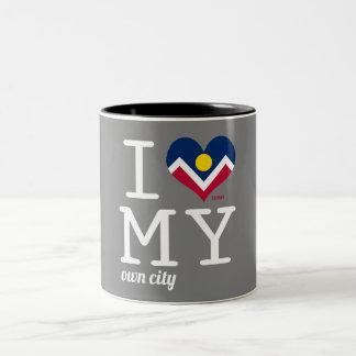 Denver | Colorado Two-Tone Coffee Mug