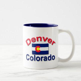 Denver, Colorado Two-Tone Coffee Mug