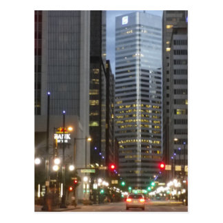 Denver, Colorado - una alta ciudad de la milla Tarjeta Postal