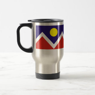 Denver, Colorado, United States 15 Oz Stainless Steel Travel Mug