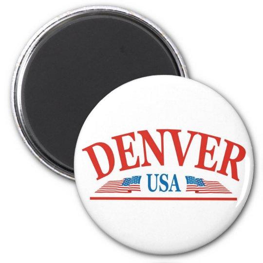 Denver Colorado USA Magnet