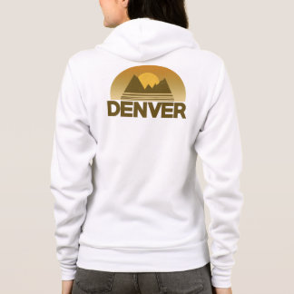 Denver Colorado vintage travel Hoodie