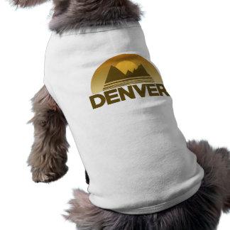 Denver Colorado vintage travel Pet Tee