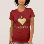 Denver -- Crema Camisetas