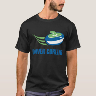 Denver Curling Men's Dark T-Shirt