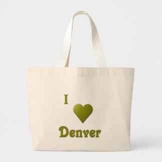 Denver -- Deep Green Bag