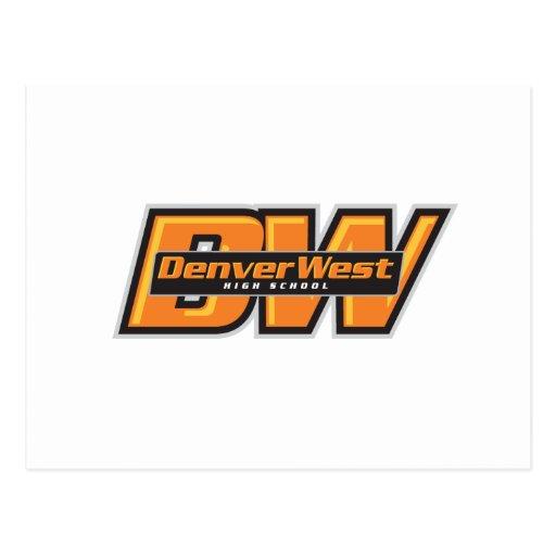 Denver del oeste postales