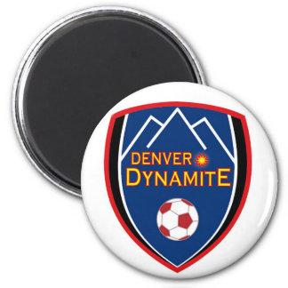 Denver Dynamite Logo Magnet