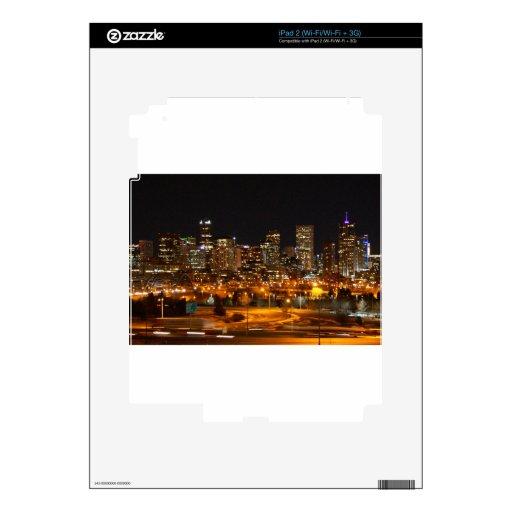 Denver en la noche iPad 2 skins