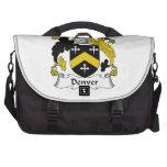 Denver Family Crest Laptop Commuter Bag