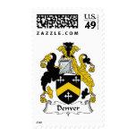 Denver Family Crest Postage Stamp