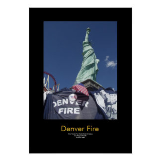 Denver Fire Poster