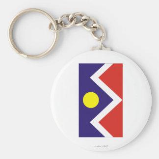 Denver Flag Key Chain