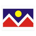 Denver Flag Postcard