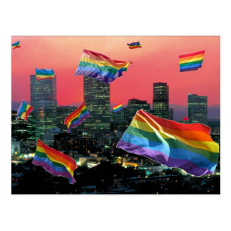 Denver Flying Pride Postcard