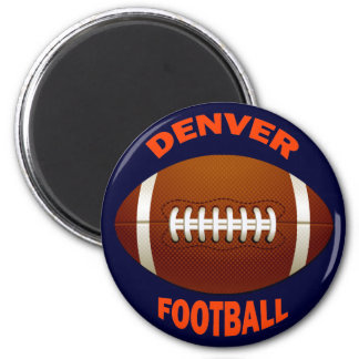 DENVER FOOTBALL MAGNETS