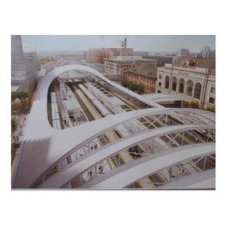 Denver Future train station Postcard
