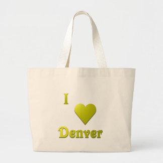 Denver -- Gold Tote Bags