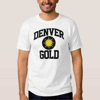 Denver Gold Tee Shirt
