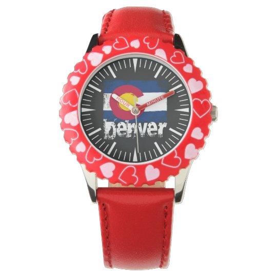 Denver Grunge Flag Watch