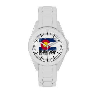 Denver Grunge Flag Watches