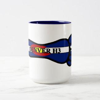 Denver H3 Foot Two-Tone Coffee Mug