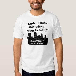 Denver High Town Shirts