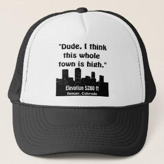 Denver High Town Trucker Hat