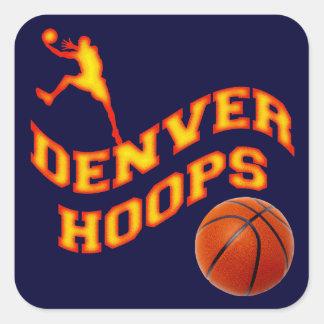Denver Hoops Sticker