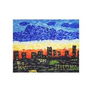 Denver, horizonte del Co Impresiones De Lienzo
