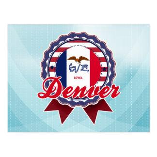 Denver, IA Postales