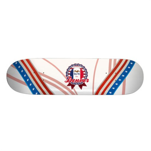 Denver, IA Skateboard Decks