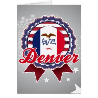 Denver, IA Felicitación
