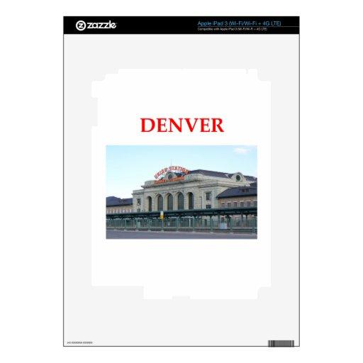 Denver iPad 3 Skins