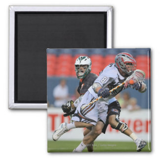 DENVER - JULY 16:  Greg Downing #8  Young 2 Inch Square Magnet