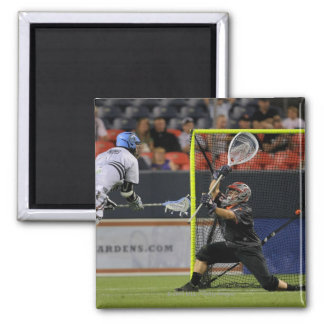 DENVER - JULY 16:  Kenny Nims #1  Young 2 Inch Square Magnet