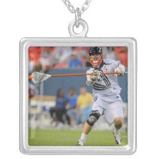 DENVER - JULY 16:  Matthew Bocklet #10 Silver Plated Necklace