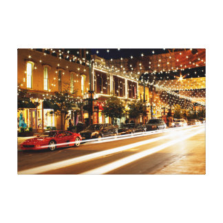 Denver – Larimer Square Canvas Print