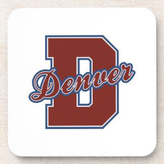 Denver Letter Drink Coaster