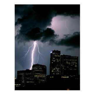 Denver Lightning Postcard