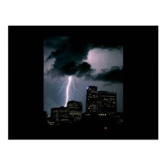 Denver Lightning Postcard