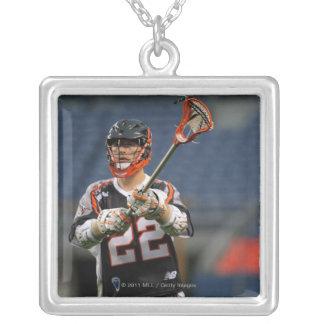 DENVER - MAY 30:  Dan Hardy #22  Denver 2 Silver Plated Necklace