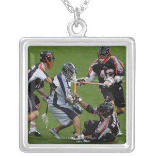 DENVER - MAY 30:  Scott Urick #30 Silver Plated Necklace