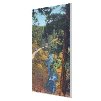 Denver Mountain Park, CO - Bear Creek Canyon Stretched Canvas Prints